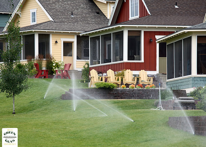 Make sure your sprinkler system is working with a summer sprinkler inspection